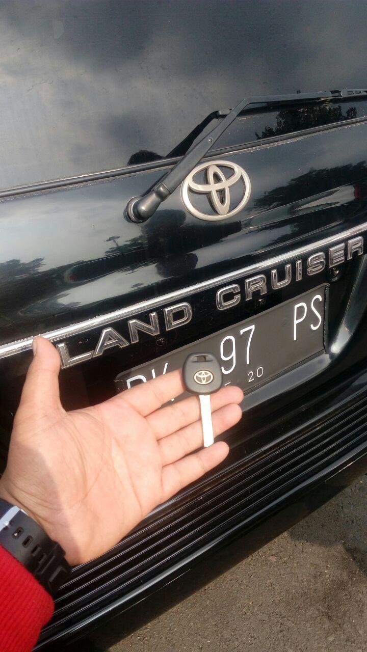 pembuatan kunci land cruiser